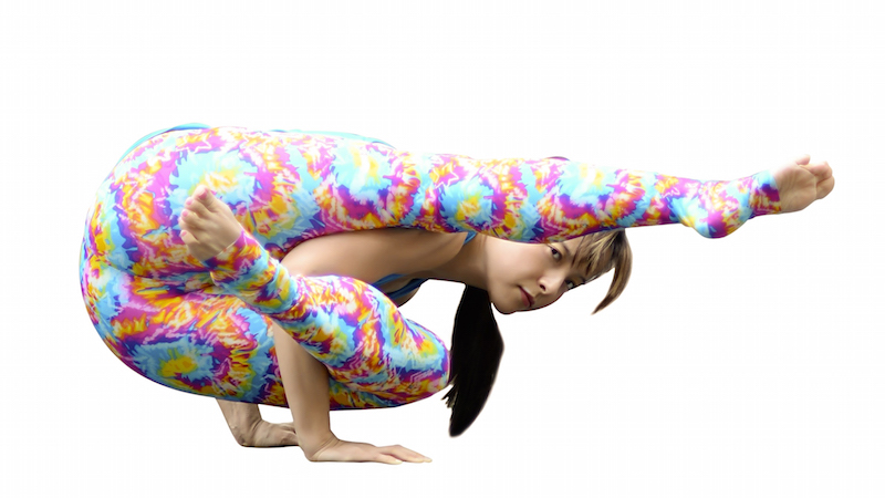Elephants Trunk Pose Like Arm Balances Heres A New One To Try It Starts Out Innocently Enough As Eka Hasta Bhujasana